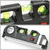 Точный Лазерный Уровень Невелир 4в1 FIXIT Laser Level Pro 3 Original с рулеткой