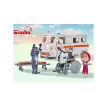 Игровой набор Машинка Скорая помощь Маша и Медведь Simba 9309863