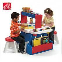 Детский стол с 2 стульями для творчества Дует