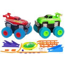 Машинки Trix Trux набор из 2 машинок с трассами 1:52 Красный+Зеленый (200 JLT-AS332RG)