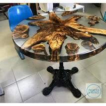 Эпоксидная смола Просто и Легко для заливки 3D столешниц с отвердителем Бесцветная 2 кг (102SG 152)