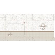 Коробка из гофры для постельного белья 350х120х300 мм