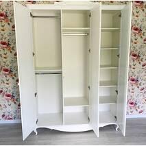Гардеробный шкаф Эльза с ящиками в детскую, подростковую комнату