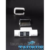 ЭЛЕКТРОТЭН Heatpol H Eco квадратний 30х30 MS chrome: Регулювання 10-65c   таймер 1-9 ч.   Маскування дроту