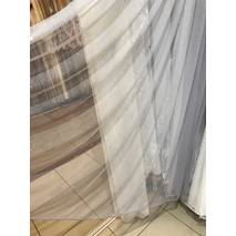 Тюль со стразам серого цвета в гостиную, спальную