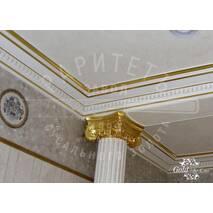 Сусальное золото потолок