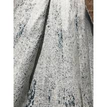 Ткань для штор с переходом бирюзовый  цвет