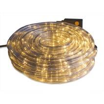 Дюрлайт светодиодная гирлянда шланг LTL 180Led 10метров внешний - уличный - теплый Wharm White с Искрой (003SAG 0235)