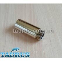 """Золотий подовжувач TAURUS Gold від 10 до 90 мм Різьбове з'єднання внутр. 1/2"""" - зовнішня 1/2""""; Gold 70"""