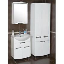 Зеркальный шкаф Глория 55 см R/L с подсветкой Аквародос