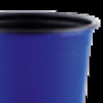 Горщик TEKU 0,29л 9x6,8см синій