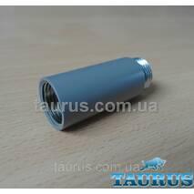"""Сірі подовжувачі від 10 до 90 мм Різьбове з'єднання внутр. 1/2"""" - зовнішня 1/2"""" gray 90"""