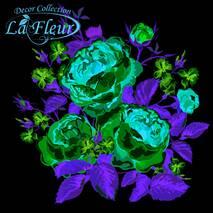 """Серветки  ТМ """" La Fleur""""  ЗЗхЗЗ,  2 слоя """"Ніжна композиція"""" 20шт."""