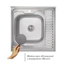 Imperial 6060-L 0.6мм Decor кухонная мойка (160)