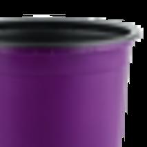 Горщик TEKU 0,46л 10,5x8,2см фіолетовий