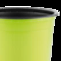 Горщик TEKU 0,29л 9x6,8см салатовий