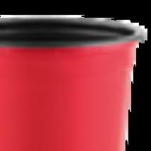 Горщик TEKU 0,46л 10,5x8,2см червоний