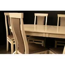 Раскладной овальный стол Версаль со стульями Марек 3