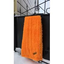 """Меховой плед-покрывало """"травка"""" с длинным ворсом 220х240 см """"Оранж"""""""