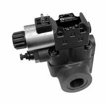 Запобіжний клапан з електричним керуванням і з можливістю розвантаження та вибору тиску RQM * -W