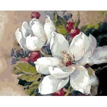 """STK Картина по номерах """"Цвітіння"""" 40*50 см в коробці, ArtStory   акриловий лак"""