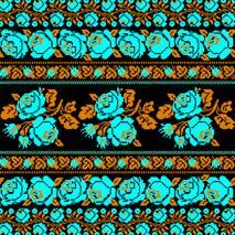 """Серветка ТМ La Fleur 33х33, 2шари, 20шт.""""Традиційний орнамент"""""""