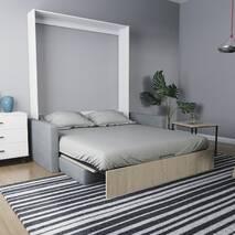 Шафа-ліжко-диван MIRA SOFA 160 з підлокітниками