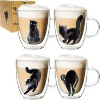 Чашка  СНТИ Black cat  400 мл  с двойной стенкой 201-21( 61-65)