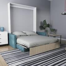 Шафа-ліжко-диван MIRA SOFA 140 без підлокітників