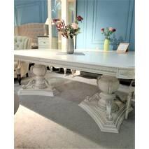 Шикарный раскладной дубовый стол Шарм в гостиную