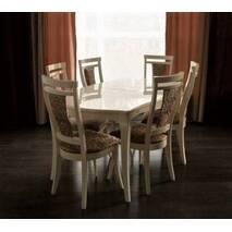 Комплект стол и стулья Маркиз из дерева