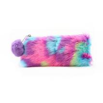 STK Пенал меховых разноцветный