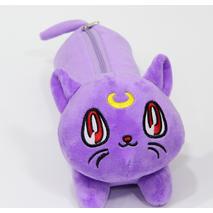 STK Пенал Фиолетовый котик