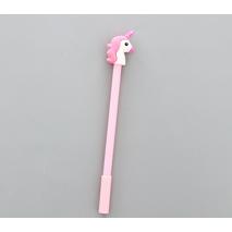 STK Ручка гелевая Единорог розовый