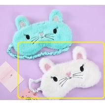 STK Маска для сну Мишка білий