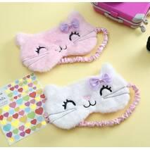 STK Маска для сну Hello Kitty рожевий
