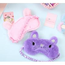 STK Маска для сну Мишка рожевий