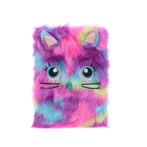 STK Пушистый блокнот Радужный кот, А5
