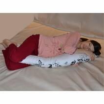 С-образная подушка для беременных расцв. в ассортименте