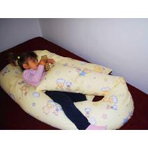 Подушка Maxi для беременных (полистироловые шарики) расцветки в ассорт.