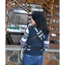 Слингонакидка зимняя фиолетовая со снежинками (разноцветные тоже спрашивайте)