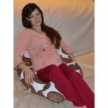 U-образная подушка для беременных расцветки в ассортименте