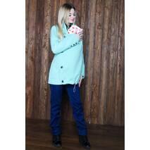 Пальтишко кашемировое демисезонное удлиненное 3 в 1: беременность, слингоношение, обычное пальто (цвета в ассорт.)