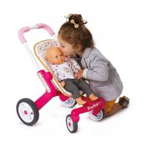 Коляска Smoby 251223 Baby Nurse для прогулянок з поворотними колесами