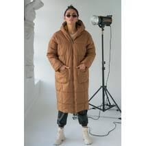 KAKTUS Женское пальто оверсайз  - св-коричн цвет, L