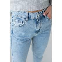 PERRY Женские джинсы-мом - голубой цвет, XL