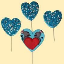 Прикраса Мишки блакитні Добрик