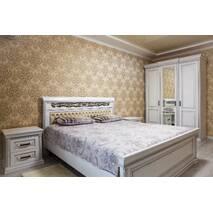 Гардеробна шафа Ніно для спальні з масиву дуба