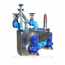 Станция перекачки сточных вод с сепарацией твердых тел типа TSВ
