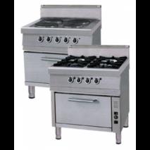 Плита электрическая с духовкой OKFG 8075 P